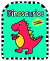 Dinosaurios: coloreables con stickers